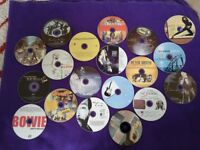 Assortment of blank recorded cd's