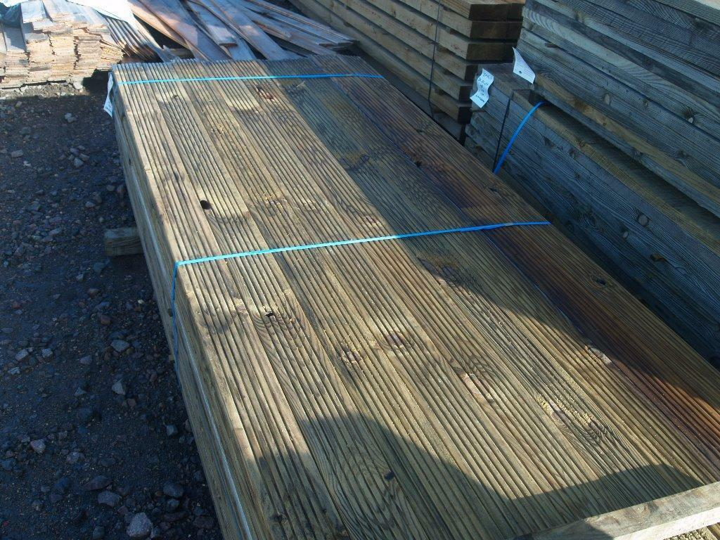 decking boards cheap----cheap -- treated only £1 meter
