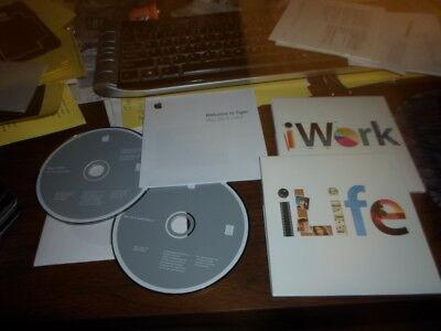 Apple Mac Mini Mac  Print & Media Orig. software ilife and iworks disk good sha