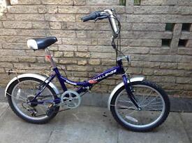 Ladies folding bicycle