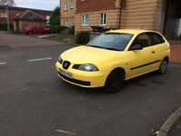 Seat Ibiza 2005 1.2 petrol long mot bargain Cheap car Not van pick up quad bike bargain