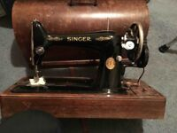 Singer Sewing Machine Hand Crank