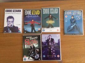 Eddie Izzard MMVI Live 6 DVD Boxset
