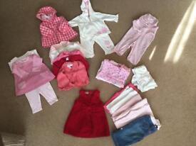 Girls Winter Bundle 3-6 months