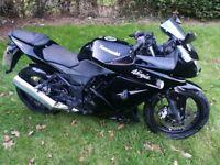 Kawasaki Ninja 250 250r 2008 (black) - 7 months MOT