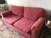 FREE! 2 x 2 seater sofas.
