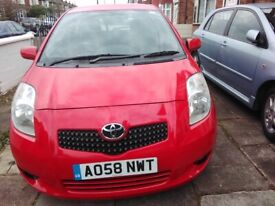 TOYOTA YARIS 1.3 VVTi SR, 5DR, 2008, MOT 11/04/2021, FULL SERVICE HISTORY, EXCELLENT CONDITION