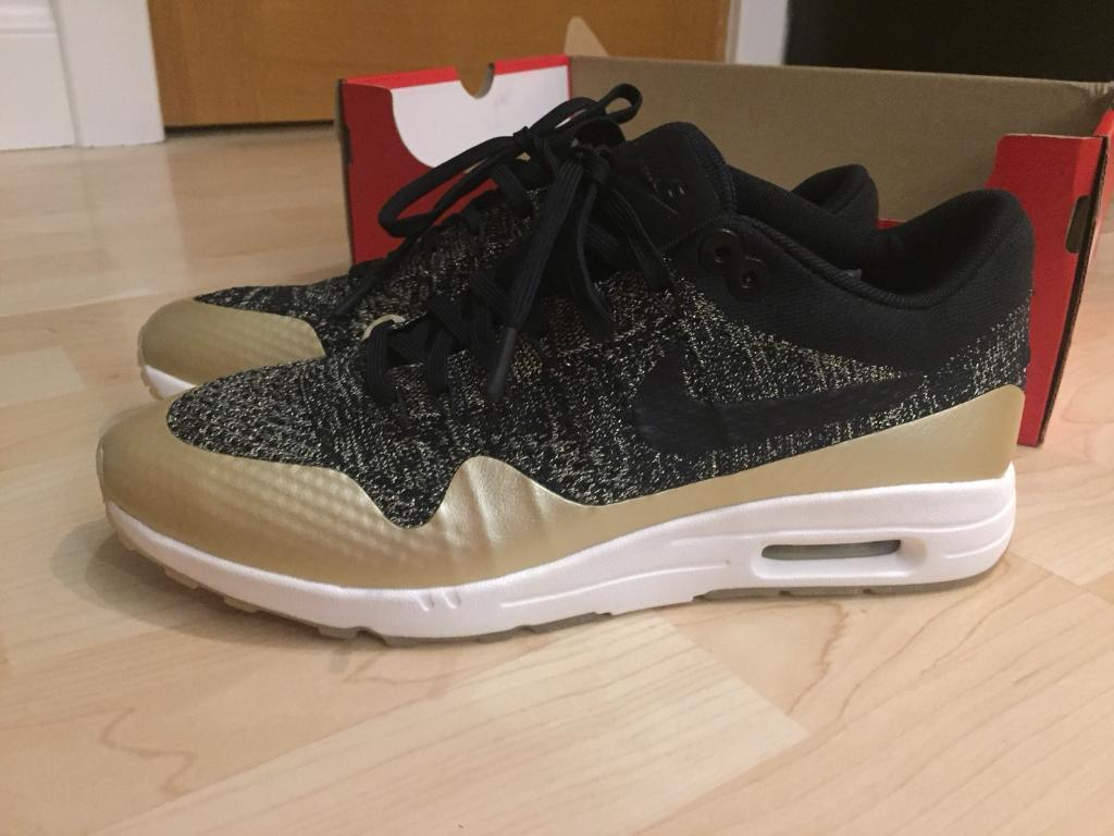 Brand new Nike air max 1 flyknit Black size 7