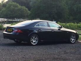 **quick sale ** 2007 Mercedes cls320 300bhp , dab , sat nav reverse camera and more