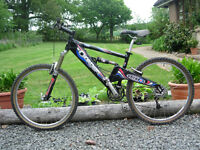 As New Orange Patriot Marzocchi Forks Shimano XT Full Suspension Freeride XC Downhill