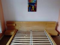 Ikea European Double Bed frame