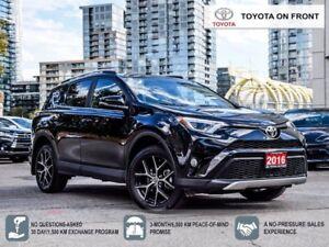 2016 Toyota RAV4 SE AWD Leather/Navigation