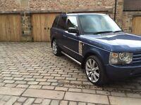 Range Rover Vogue 2005 TD6 Automatic 3 Litre Blue