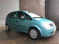 2004 VAUXHALL MERIVA LOVELY CAR THROUGHOUT