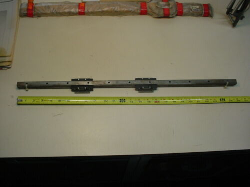 """IKO LWHT15 Linear bearings with rail overall length 26"""""""