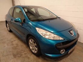 PEUGEOT 207 1.6 2006/569, LOW MILES,LONG MOT+HISTORY, FINANCE AVAILABLE, WARRANTY, GREAT CONDITION