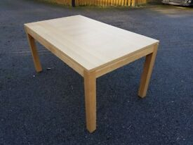 New Oak Dining Table by Bently Designs FREE DELIVERY 634