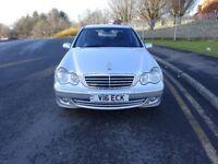 2006 Mercedes Benz C CLASS AUTOMATIC PETROL,FULL SERVICE HISTORY,FULL YEAR MOT,2 KEYS