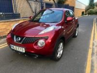 NISSAN JUKE ACENTA 2012 AUTOMATIC 1.6 PETROL WITH FULL SERVICE HISTROY WITH MOT HPI CLEAR