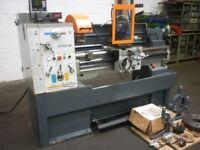 HUVEMA MODEL HU 410VAC x 1000 GAP BED CENTRE LATHE YEAR 2007