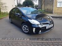 TOYOTA PRIUS UK MODEL NEW SHAPE ONE FORMER KEEPER WARRANTED MILES HPI CLEAR UBER READY PCO VALID