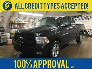 2011 Ram 1500 SPORT*QUAD CAB*HEMI*LEATHER*KEYLESS ENTRY*POWER HE