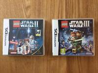 Lego Star Wars Nintendo DS games