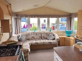 double glazed & central heated static caravan holiday home for sale near mablethorpe and skegness