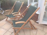 Two Deck Chairs (NEW)