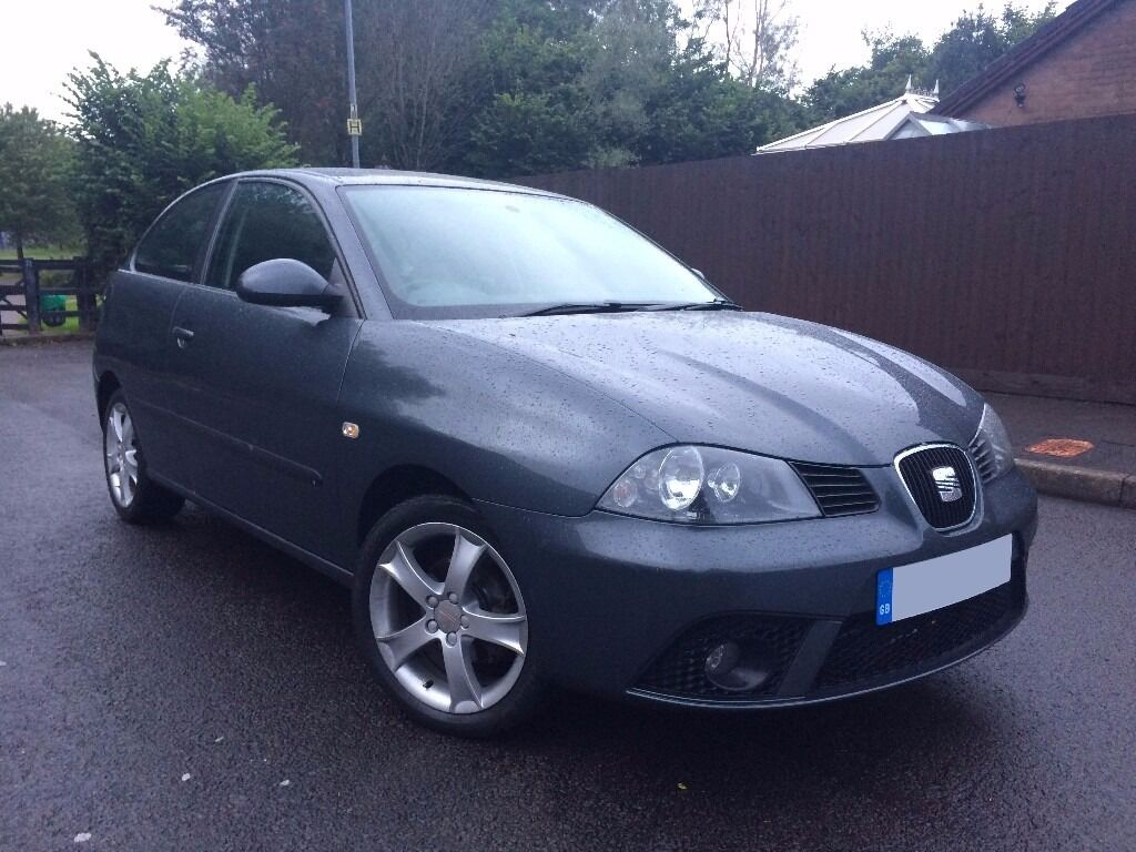 2006 56 seat ibiza 1 4 85 sport grey full service history facelift first car very nice in. Black Bedroom Furniture Sets. Home Design Ideas