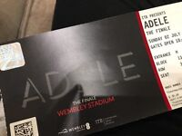 4 x Adele Tickets - 02/07/17 at Wembley