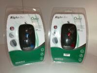 Right-tec USB Office Desktop mouse (Boxed 40pcs)