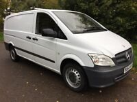 MERCEDES VITO 2014 64 113CDI 1 OWNER NO VAT TO PAY £7499