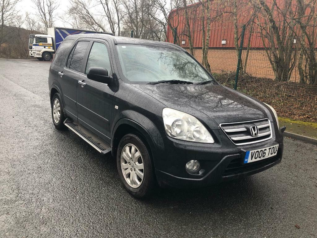 2006 HONDA CRV 2.2 CDTI EXECUTIVE MANUAL-FULL LEATHER-12 MONTH MOT TEST-