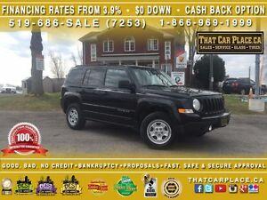 2015 Jeep Patriot North-$70/Wk-4X4-PWR Group-Low Km's-AUX-AUTO