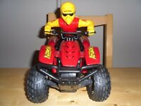 radio control extreame battery quad bike