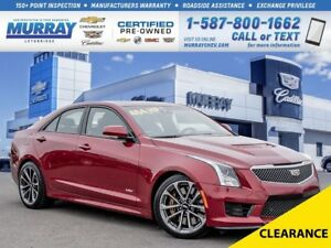 2016 Cadillac ATS-V **3.6L Twin Turbo Engine!  464HP!**