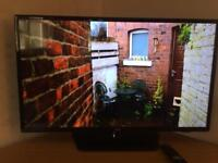 LG HD TV, as new with remote. (bedroom use only)
