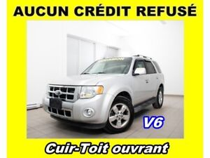 2009 Ford Escape LIMITED V6 4X4 *TOIT OUVRANT* 100% APPROUVE