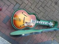 CRAFTON REX JAZZ GUITAR THIS GUITAR HAS BEEN FULLY RESTORED BY GRAHAM NODEN VINTAGE GUITAR EXPERT