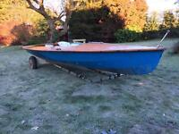 1976 Streaker Competition Racing Dinghy
