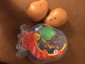 EXCELLENT TWO Mr POTATO head WITH loads of accessories