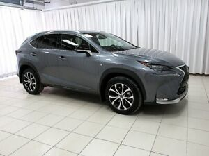 2015 Lexus NX 200t F-SPORT SERIES 1 - LEATHER, NAV, AWD AND MORE