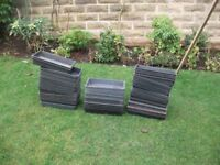 Used seed sowing trays