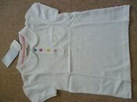 Girls Jo Jo Maman Bebe Top Aged 5-6 Years Brand New With Tags Attached