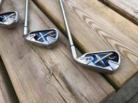 Golf clubs - Callaway X22 4 to SW new Black widow grips