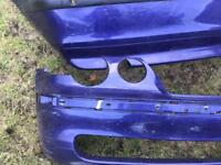 BMW COMPACT FRONT AND REAR BUMPER IN DARK MAUVE