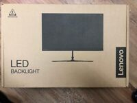 BRAND NEW LENOVO MONITOR 24 INCHES DO NOT MISS OUT LAST ONE AVAILABLE***LASTONE***