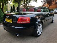 AUDI A4 2.0T SPORT CONVERTIBLE 12 MONTH MOT PERFECT CONDITION VERY CLEAN LEATHER SEATS