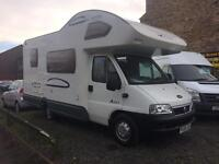 Fiat Ducato lunar champ 06 Reg , reduced FOR QUICK SALE REDUCED BY £4000 LOOK